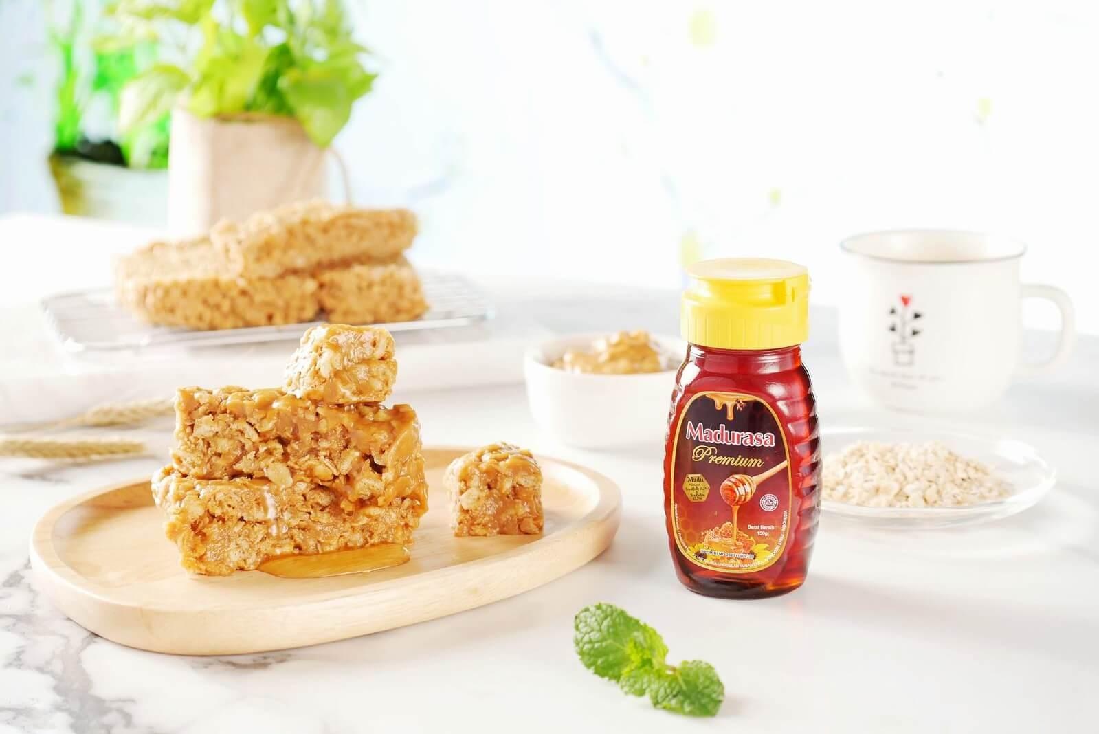 Peanut Butter Oat Honey Bar, Camilan yang Sehat dan Gampang